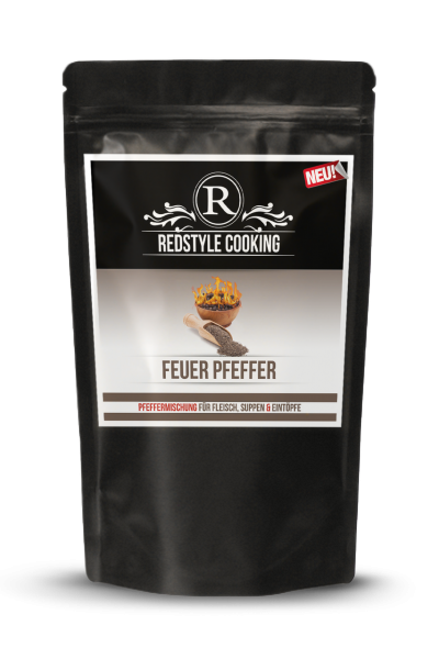 Redstyle Cooking Feuer Pfeffer 150g