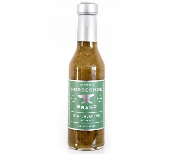 Horseshoe Brand Kiwi Jalapeno Hot Sauce 237ml
