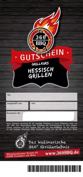 Grillkurs Hessisch Grillen - Das Original
