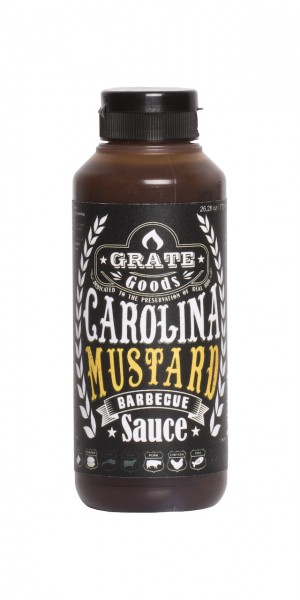 Grate Goods Carolina Mustard Barbecue Sauce (klein) 265ml