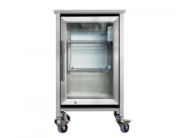 """Der Eckat """"Der Eiskalte"""" Kühlschrank-Modul mit Rollen, inkl Caso BBQ Cooler"""