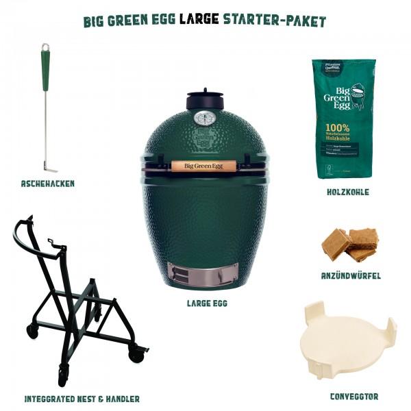 Big Green Egg Large Keramikgrill Starter-Paket