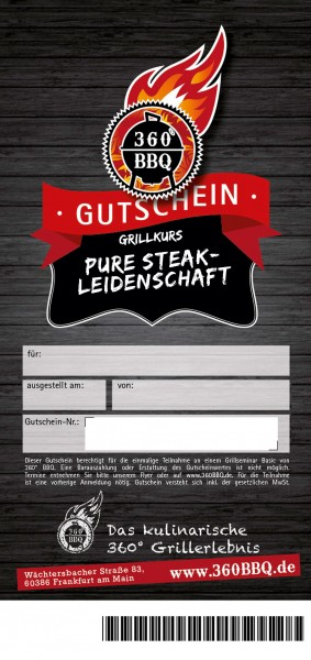 Grillkurs Pure Steak-Leidenschaft