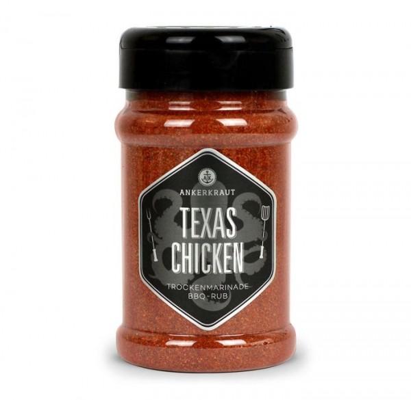 Ankerkraut BBQ-Rub Texas Chicken im Streuer 230g
