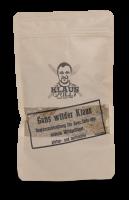 Klaus Grillt Gans wilder Klaus im Beutel
