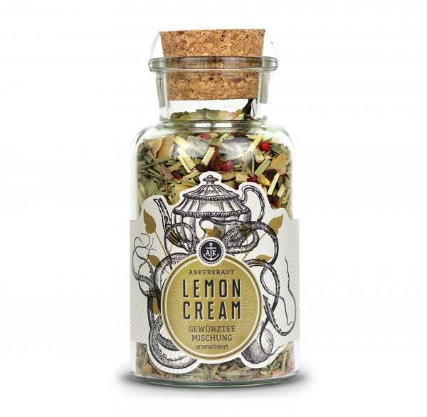 Ankerkraut Lemon Cream, Gewürzteemischung im Korkenglas 100g