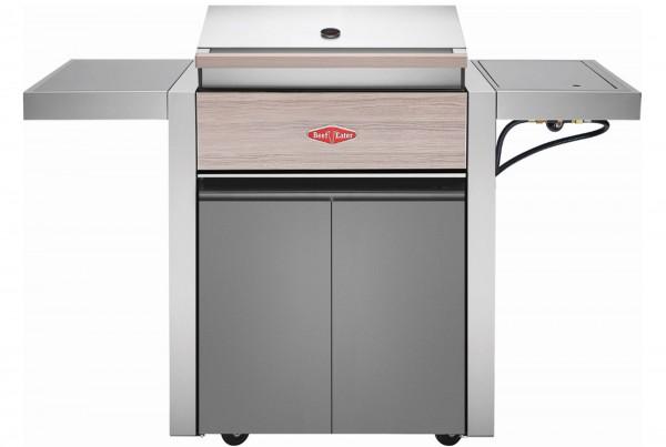 BeefEater 1500 Serie - 3 Brenner Grillwagen inkl. Seitenbrenner