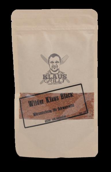 Klaus Grillt Wilder Klaus Black im Beutel (150g)