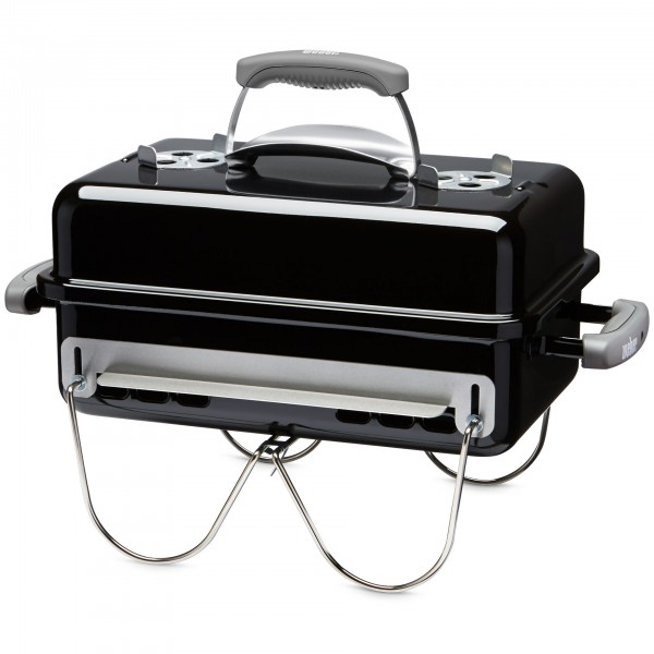 Weber Go-Anywhere Holzkohlegrill, Black