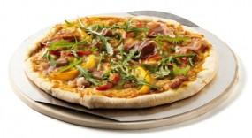 Pizzastein Rund (inklusive Blech)