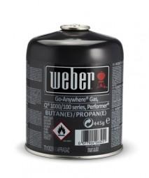 Gas Kartusche für Weber Q100/1000, Performer Deluxe GBX Gourmet und Go Anywhere Gas