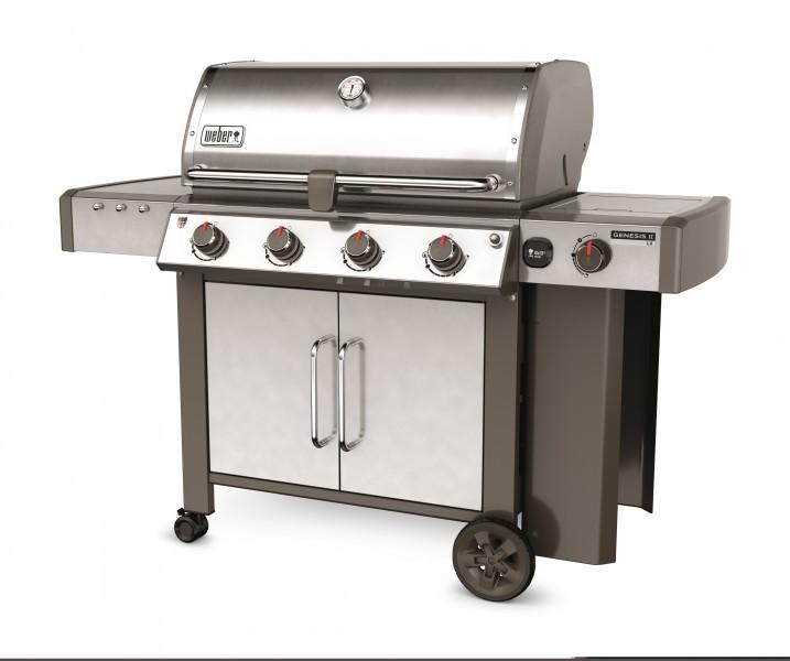 Genesis® II LX S-440™ GBS™, Edelstahl inkl. iGrill 3+Weber BBQ Buch (im Wert von 150,00 €)