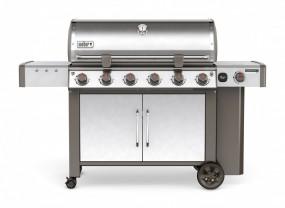 Genesis® II LX S-640™ GBS™, Edelstahl inkl. iGrill 3+Weber BBQ Buch (im Wert von 150,00 €)