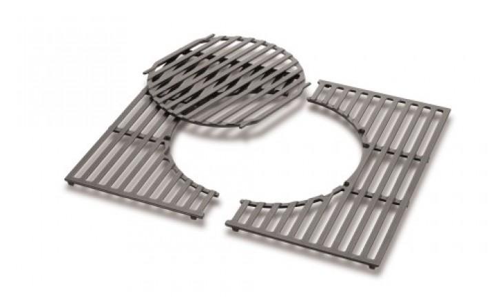 Gourmet BBQ System - Grillrost mit Grillrosteinsatz aus Gusseisen (Spirit 200er-Serie)