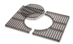 Gourmet BBQ System - Grillrost mit Grillrosteinsatz aus Gusseisen (Spirit 300er-Serie)
