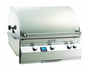 Aurora Slide in with Rotisserie & Infrared Backburner