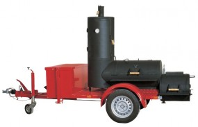 20'' Joe's Barbeque Smoker Trailer