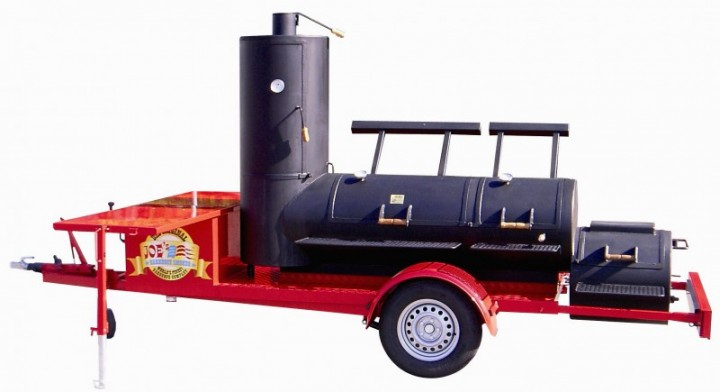 Joe's Barbecue Smoker Trailer