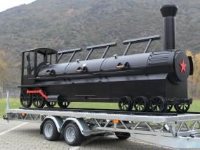 24'' Triple Door Championship Train